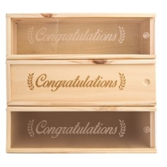 Congrats #1 Wine Box