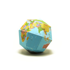 D.I.Y. Origami Paper Globe