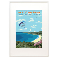 Vintage Albany West Cape Howe print