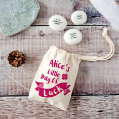Little Bag Of Luck Keepsake Pebble Token Kit