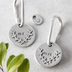 Mr or Mrs Keyring