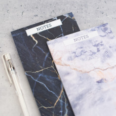 Marble Small Desk Jotter