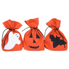 Spooky Halloween bags (set of 3)