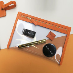 Personalised Travel Essentials Organiser Pouch