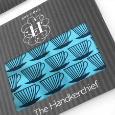 Cup of Tea Hankies (set of 2)
