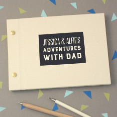 Personalised Mini Typographic Photo Album
