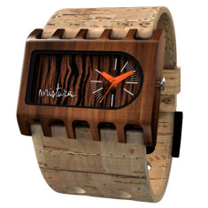 Mistura Ferro cork watch