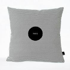 Paris bon voyage Cushion Cover