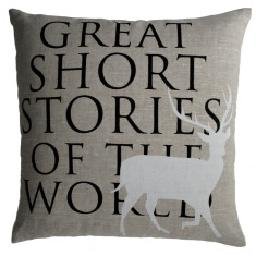 Elk cushion cover