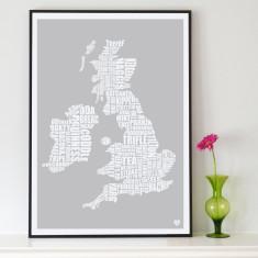 British Isles Food Map