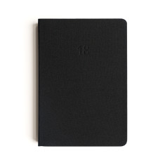 Soft Cover Diary 2018 In Black