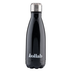 Reusable Drink Bottle Gloss Black