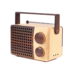 iKono wooden radio and speaker