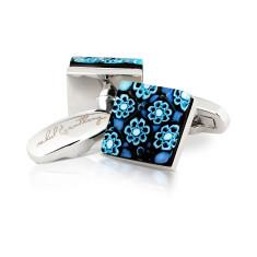 Rugiada Murano glass cufflinks