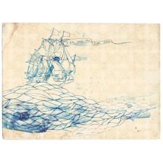High seas print