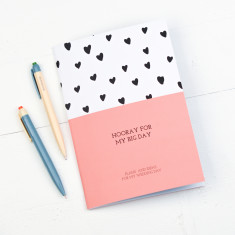 Hooray For My Big Day Wedding Planner Notebook