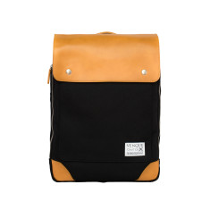 Venque - Flat Mini Black Backpack