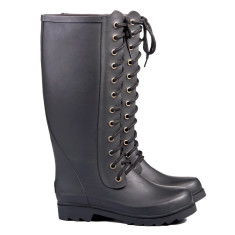 Ilse matt black wellies