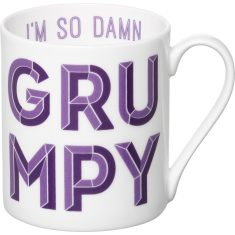 I'm so damn grumpy mug