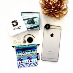 Wide-angle/macro phone lens