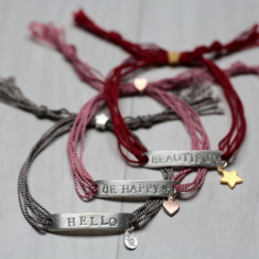 Mantra ID friendship bracelet