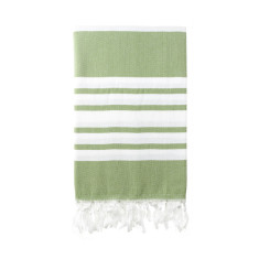 Classic olive twist Turkish towel