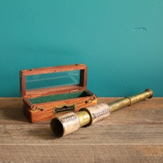 Dollond London hand telescope