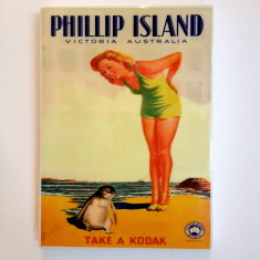 Phillip Island wall art tile