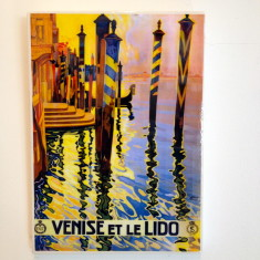 Venice wall art tile
