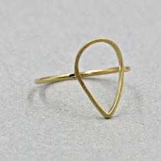 Oval drop ring
