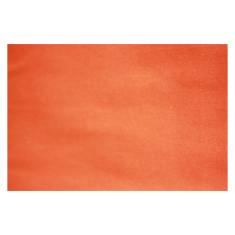 Orange cotton tablecloth