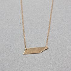 Abstract plated necklace in rose gold
