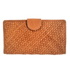 Vayana woven leather wallet