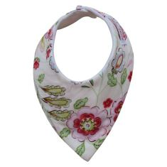 Flower dribble bib