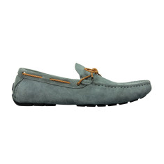 Loafers rope gunmetal men's shoe