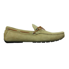 Loafers rope dark sand men's shoe