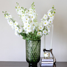 White delphinium bouquet