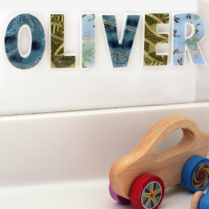 Personalised boys name letters (price per letter)