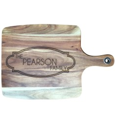 Family personalised wooden chopping board/platter
