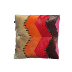 Loco vivo cowhide cushion cover