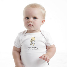 Baby Romper - Does my bum look big in this?