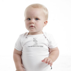 Copyright 2015 mum & dad baby romper