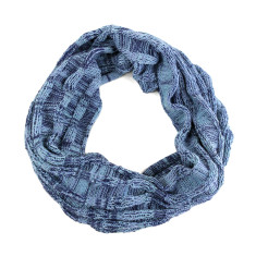 In the loop merino snood scarf