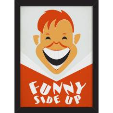 Funny Side Up Print