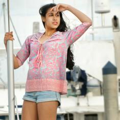 Coral reef Sonya blouse