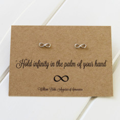 William Blake Infinity earrings