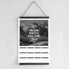 Wall Calendar 2017 - Travel Inspiration