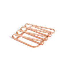 Umbra pulse trivet in copper