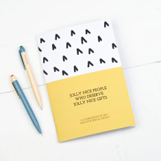Jolly Nice People Gift Planning Notebook