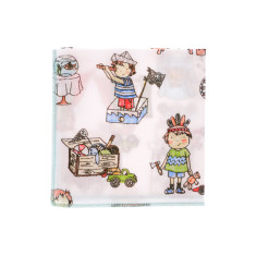 Little boys are made of... hankies (set of 2)